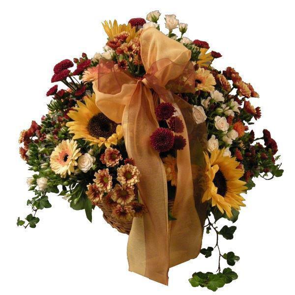 Picture of cesta de flores da época