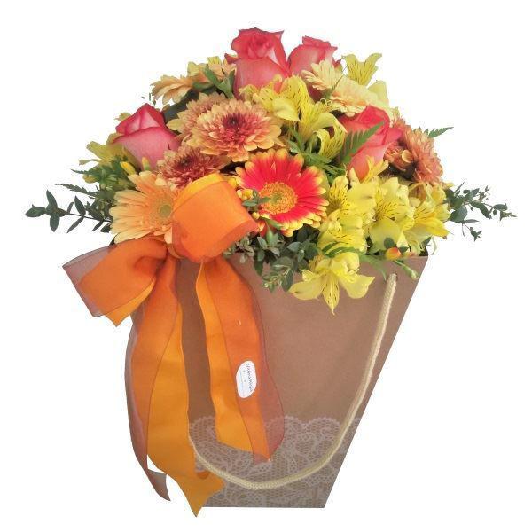 Picture of flores da época em saca