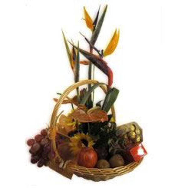 Picture of flores, frutas e bombons