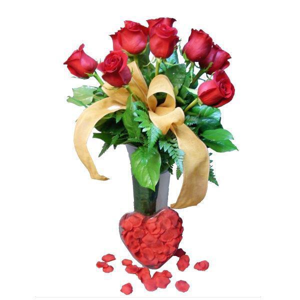 Picture of rosas e pétalas