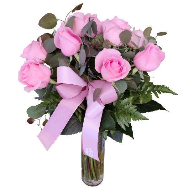 Picture of bouquet de rosas cor-de-rosa